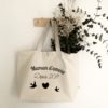coton sac grand tote bag