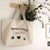 tote bag mama d'amour