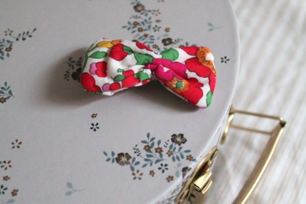 BARRETTE LIBERTY BETSY ROUGE